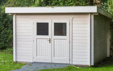 Boston West garden shed costs